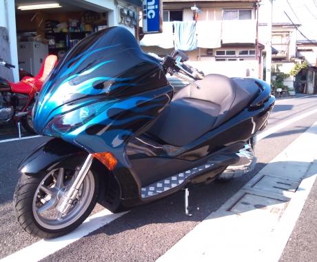 カスタムペイント ビッグスクーター